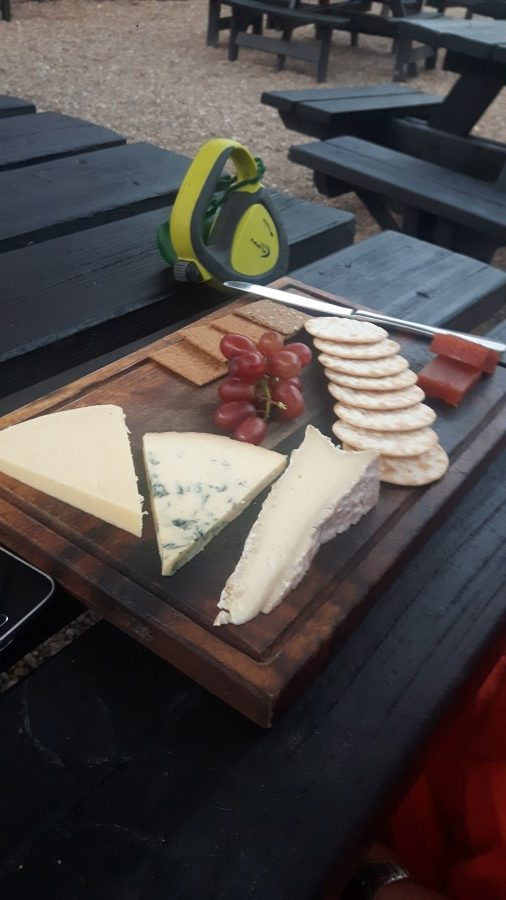 Cheeseboard at The Ram Inn, Firle