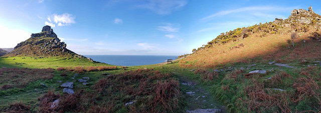 Valley of the Rocks, Lynmouth, Exmoor National Park