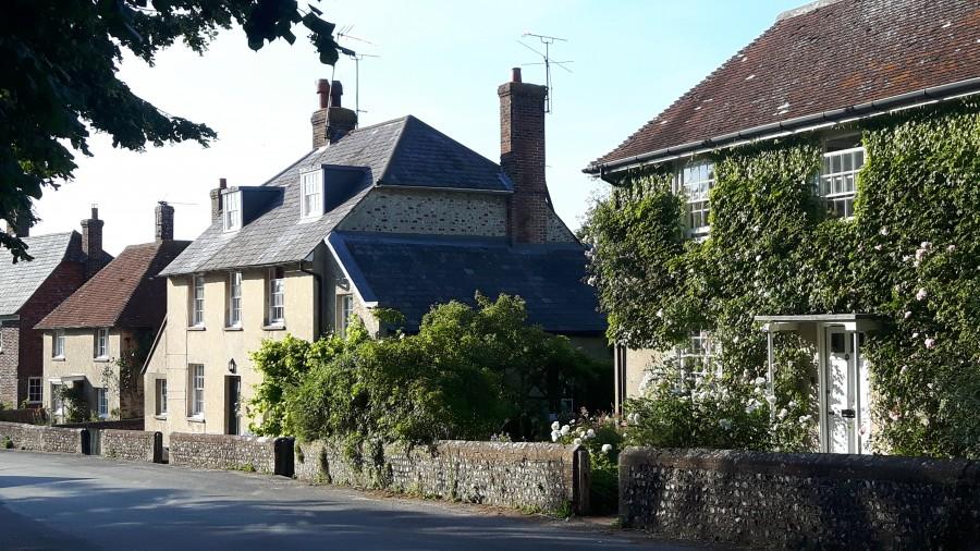 Firle village