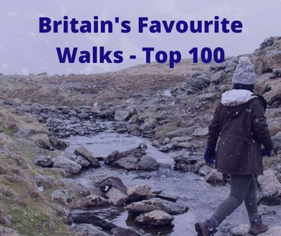 Britain's Favourite Walks Top 100
