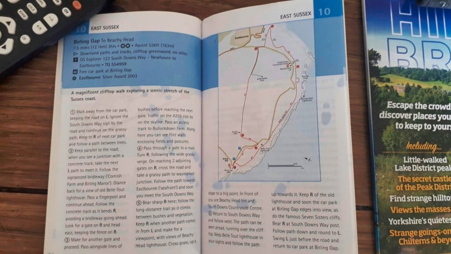 Beachy Head to Birling Gap circular walk instructions