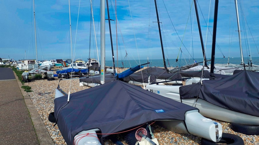 sailing boats, Eastbourne